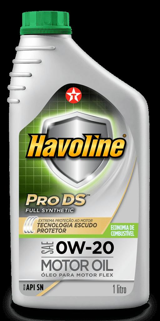 Havoline ProDs Full Synthetic Motor Oil SAE 0W-20