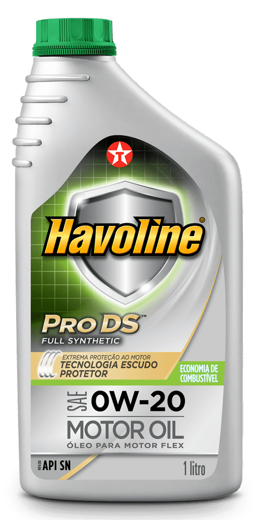 Havoline ProDs Full Synthetic Motor Oil SAE 0W-20